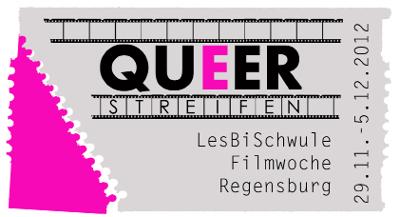 Logo/Plakat QUEER-Streifen 2012